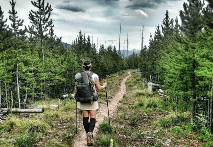 Hur långt vandrar man på en dag